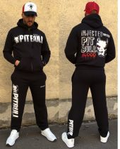 APBT Streetwear PITBULL BLOOD szabadidőruha fekete