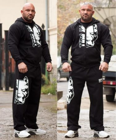 APBT Streetwear PIT BULL MODE szabadidőruha fekete