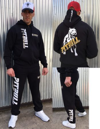 APBT Streetwear PIT BULL SPORT szabadidőruha BLACK/GOLD