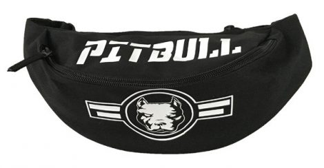 APBT streetwear Pit Bull RUNNER övtáska FEKETE