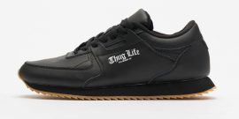THUG LIFE SNEAKERS FRONTIN Fekete