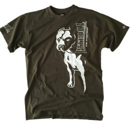 APBT Streetwear BIG PIT póló khaki zöld